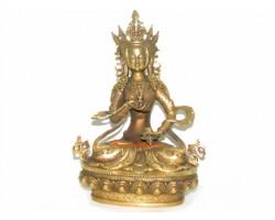 Brass Dorje Sempa Buddha Statue - Vajrasattva