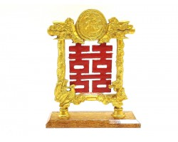 Double Happiness Plaque