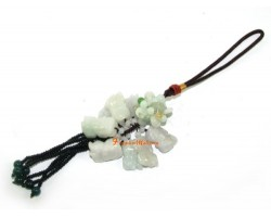 Eight Feng Shui Pi Yao Jade Hanging for Excellent Wealth