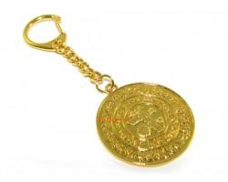 Element Balancing Medallion Keychain