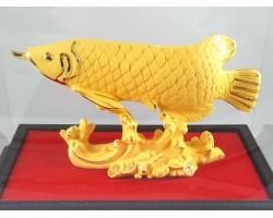 Exquisite Wealth-Inviting Golden Arowana