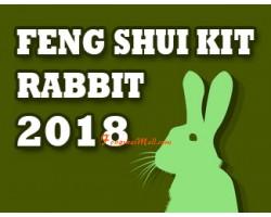 Feng Shui Kit 2018 for Rabbit