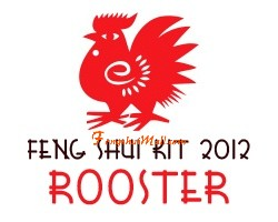 Feng Shui Kit 2012 for Rooster
