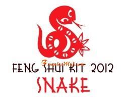 Feng Shui Kit 2012 for Snake