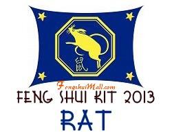 Feng Shui Kit 2013 - Horoscope Rat