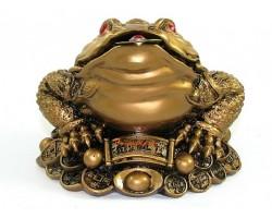 Feng Shui Good Fortune Money Frog (L)