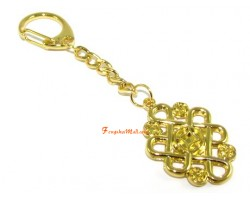 Feng Shui Mystic Knot with Coins Keychain (s)