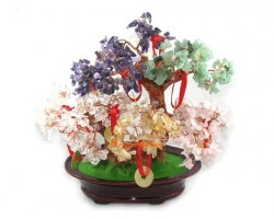 Five Element Feng Shui Crystal Tree