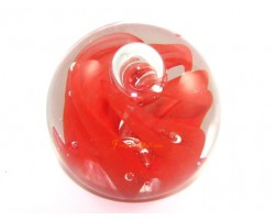 Flaming Red Crystal Ball