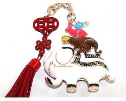 Friendship Amulet Keychain