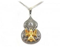 Garuda Wu Lou Pendant Necklace