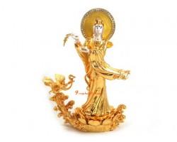 Goddess Kuan Yin with Garuda