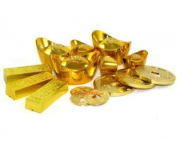 Gold Ingots, Coins and Bars