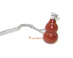 Gold Sand Wulou Pendant for Health Luck