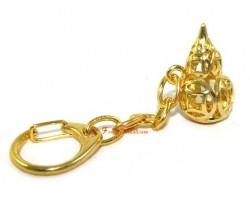 Golden Coin Wu Lou Keychain