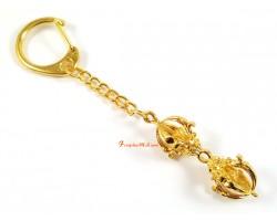 Golden Dorje Keychain
