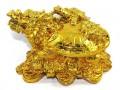 Golden Fengshui Dragon Tortoise (L)