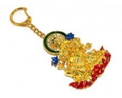 Golden Green Tara Keychain