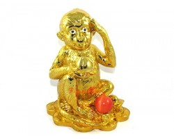 Golden Good Fortune Monkey