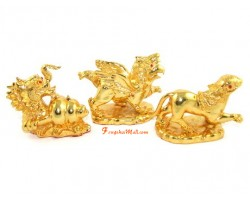 Golden Three Harmony Animals