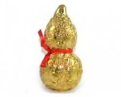 Golden Wu Lou with Longevity God