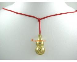 Golden Wu Lou Amulet Pendant