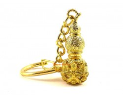 Golden Wulou with Garuda Keychain