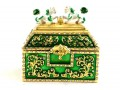 Green Treasure Chest for Growing Money Luck