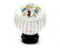 Heart Sutra Crystal Ball