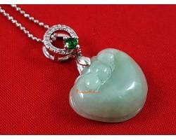 High Grade Jade Ling Zhi Pendant