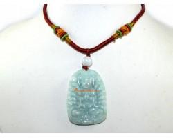 High Grade Jade Thousand Hand Kuan Yin Pendant