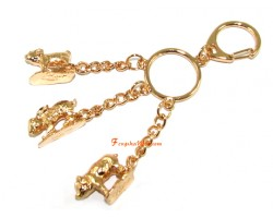Horoscope Allies Keyring - Rabbit, Sheep and Boar