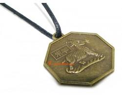 Horoscope Coin Pendant Amulet - Goat