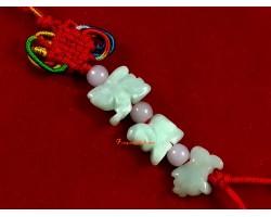 Jade Allies Hanging - Rabbit, Sheep and Boar