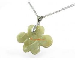 Jade Mystic Knot Pendant Necklace