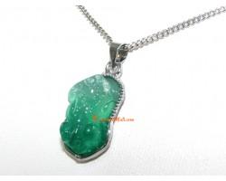 Jade Piyao Pendant