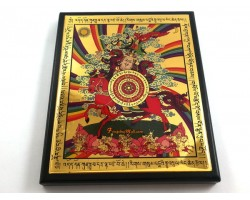 King Gesar Amulet Plaque