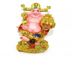 Laughing Buddha as God of Wealth