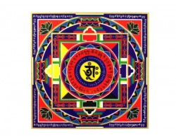Mandala Wealth Sticker (2 pieces)