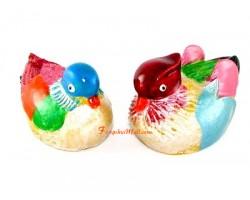 Mandarin Ducks for Love Luck