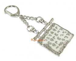 Medicine Buddha Script Keychain
