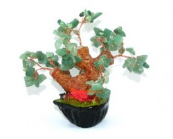 Mini Aventurine Quartz Crystal Tree