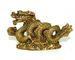 Mini Brass Feng Shui Dragon