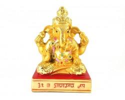 Mini Lord Ganesha Statue - Hindu Elephant God