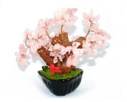 Mini Rose Quartz Crystal Tree