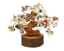 Multi-Crystal Wishfulfilling Feng Shui Tree