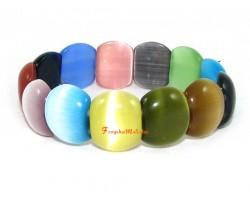 Multicolor Chrysoberyl Cats Eye Bracelet