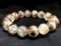Multicolor Phantom Quartz Bracelet (High Grade)