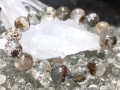 Multicolor Phantom Quartz Bracelet (Med-High Grade)