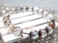 Multicolor Phantom Quartz Bracelet (Medium Grade)